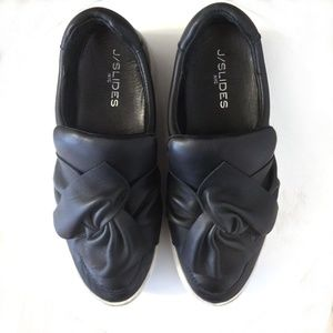 J/SLIDES Leather Sneakers/Sz 7.5